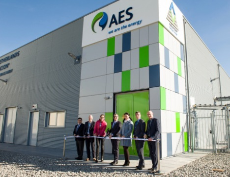 AES_Netherlands_Advancion_Array_-_Ribbon_Cutting